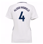 2017-18 Tottenham Womens Home Shirt (Alderweireld 4)