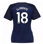 2017-18 Tottenham Womens Away Shirt (Llorente 18)