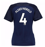 2017-18 Tottenham Womens Away Shirt (Alderweireld 4)