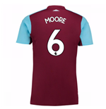 2017-18 West Ham Home Shirt (Moore 6) - Kids