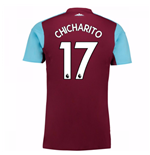 2017-18 West Ham Home Shirt (Chicharito 17) - Kids