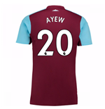2017-18 West Ham Home Shirt (Ayew 20)