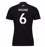 2017-18 West Ham Away Shirt (Moore 6) - Kids