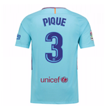 2017-2018 Barcelona Away Shirt (Pique 3) - Kids
