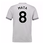2017-2018 Man United Third Shirt (Mata 8) - Kids