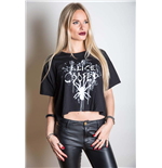 Alice Cooper Women's Fashion Tee: Spider Splatter