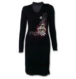 Blood Tears - Neck Band Elegant Dress