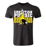 Christian Pulisic Borussia Dortmund Player T-Shirt (Black) - Kids