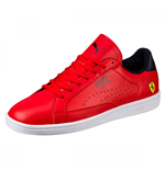 Puma Ferrari Evo Match Mens Trainers (Red)