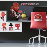 AC Milan Wall Stickers 282185