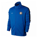 2017-2018 Inter Milan Nike Authentic Franchise Jacket (Blue)