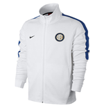 2017-2018 Inter Milan Nike Authentic Franchise Jacket (White)