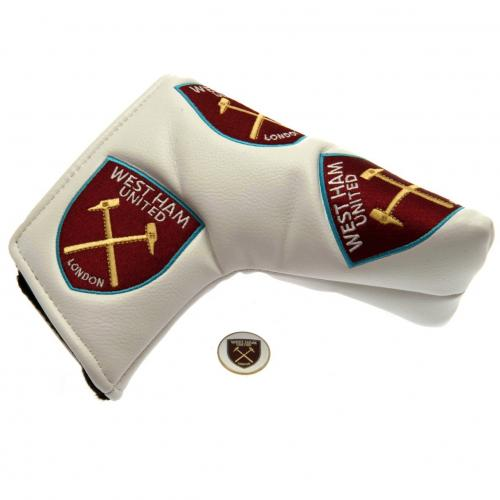 West Ham United F.C. Blade Puttercover & Marker