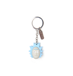 Rick & Morty - Ricks Face 3D Rubber Keychain