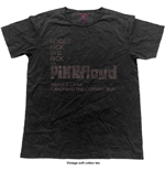 Pink Floyd Men's Fashion Tee: Arnold Layne Demo (Vintage Finish)