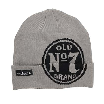 Jack Daniels Old No. 7 Grey Beanie