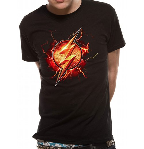 Justice League Movie - Flash Symbol T-shirt
