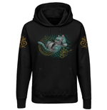Alice in Wonderland Ladies Hooded Sweater About Time