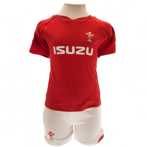 Wales R.U. Shirt & Short Set 6/9 mths