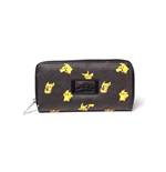 Pokemon - Pikachu Zipper Bifold Girls Wallet