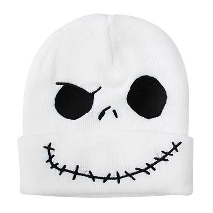 NIGHTMARE BEFORE CHRISTMAS Jack Cuff Winter Beanie