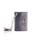 Skyrim - Chain Wallet With Metal Dragon Badge