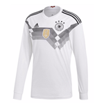 2018-2019 Germany Home Adidas Long Sleeve Shirt