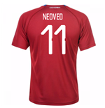 2018-19 Czech Republic Home Shirt (Nedved 11)