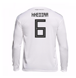 2018-19 Germany Home Long Sleeve Shirt (Khedira 6)
