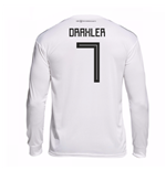2018-19 Germany Home Long Sleeve Shirt (Draxler 7)