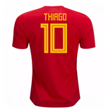 2018-19 Spain Home Shirt (Thiago 10)