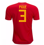 2018-19 Spain Home Shirt (Pique 3) - Kids
