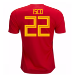 2018-19 Spain Home Shirt (Isco 22) - Kids