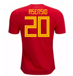2018-19 Spain Home Shirt (Asensio 20)