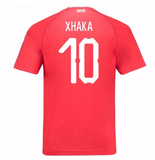 2018-19 Switzerland Home Shirt (Xhaka 10)