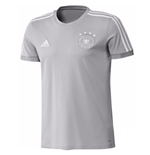 2018-2019 Germany Adidas Training Tee (Grey) - Kids