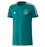 2018-2019 Germany Adidas Training Tee (Green) - Kids