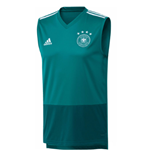 2018-2019 Germany Adidas Sleeveless Training Shirt (Green)