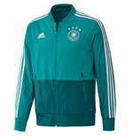 2018-2019 Germany Adidas Presentation Jacket (Green) - Kids