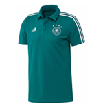 2018-2019 Germany Adidas Cotton Polo Shirt (Green)