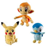 Pokemon Trainer's Choice Plush Figures 20 cm Assortment C6 (6)