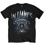 In Flames Men's Tee: Battles Crest