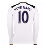 2016-17 Tottenham Home Long Sleeve Shirt (Your Name)