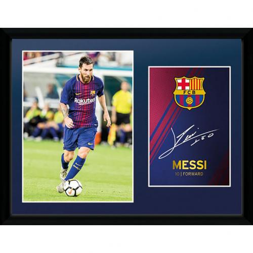 F.C. Barcelona Picture Messi 16 x 12