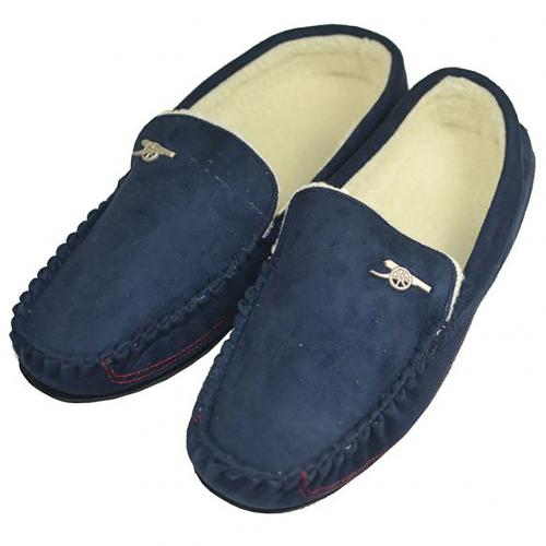 Arsenal F.C. Mens Moccasins 7/8 NV