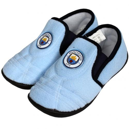 Manchester City F.C. Junior Slippers 3/4
