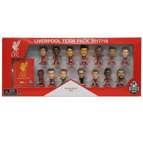Liverpool F.C. SoccerStarz Team Pack