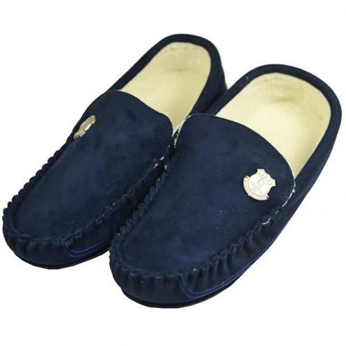 Everton F.C. Mens Moccasins 7/8 NV