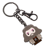 Harry Potter Cutie Collection Keychain Hagrid (silver plated)
