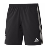 2018-2019 Germany Adidas Woven Shorts (Black) - Kids
